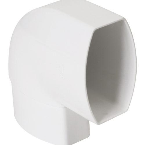 Отвод  90 по плоскости стены D 90-56