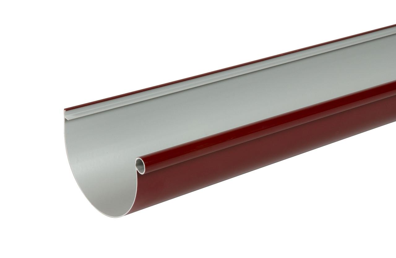 Желоб водосточный 4 м. тип 25 красный